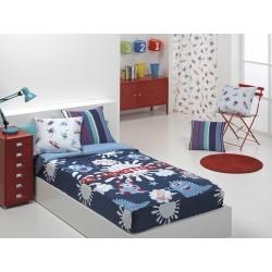 Sacolit ajustable a la cama MONSTERS con relleno extraible