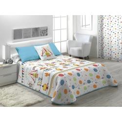 Edredón para cama de niños CIRCUS con colores divertidos
