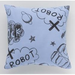 Almohada con relleno para cama infantil TECNO formato cuadrado