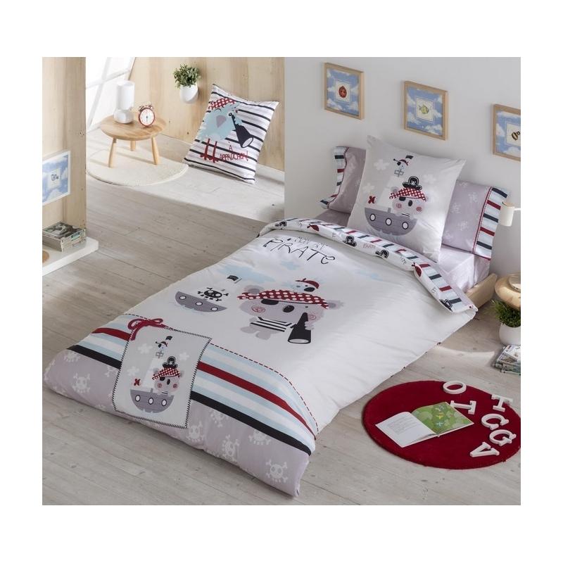 Funda n rdica para cama de ni o pirate medida 150x240 o - Medidas cama nino ...
