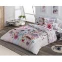 Funda nordica juvenil femenina COOKIE rosa para cama individual o grande