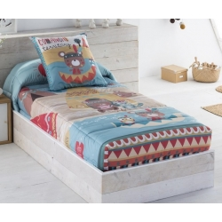 Edredon ajustable infantil para cama nido o abatible INDI talla 90 o 105 cm