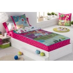 Saco nórdico para cama infantil 90 o 105 cm THAI estilo colorido y divertido