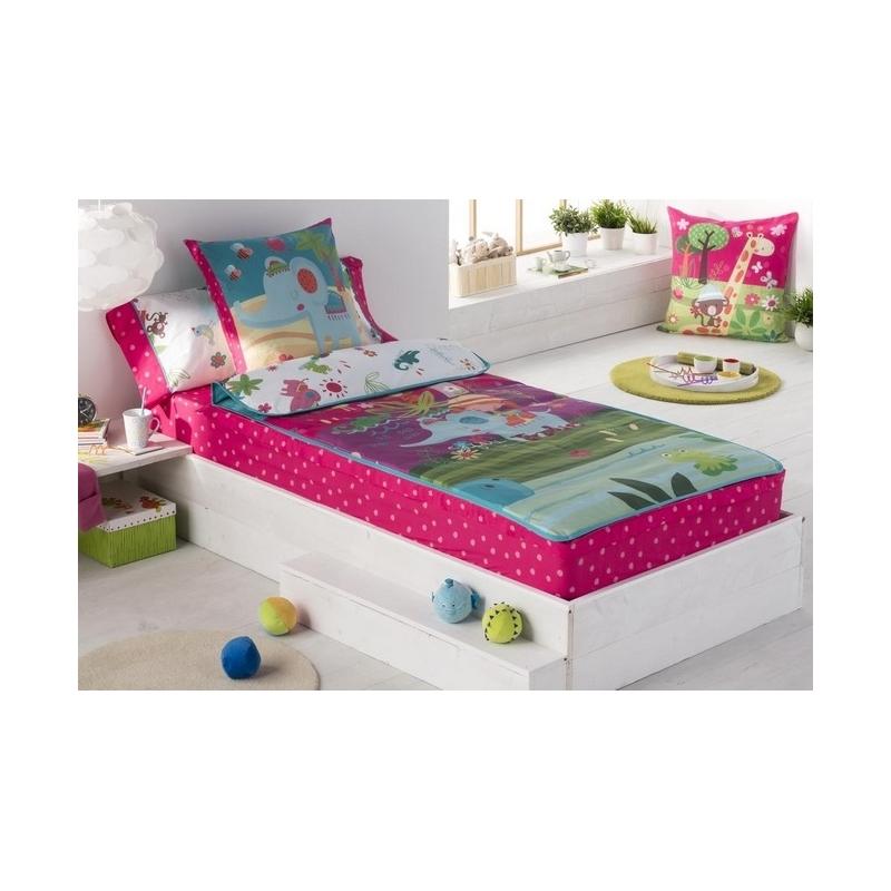 Saco n rdico para cama infantil 90 o 105 thai estilo colorido y divertido - Saco nordico cama 90 ...