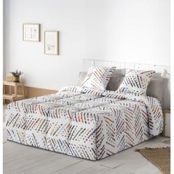 Edredón confort para cama 150, 135, 105 o 90 TOKIO en algodón muy suave