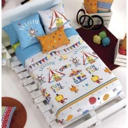 Funda nordica para cama de niños CIRCUS con opcion de incluir relleno