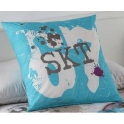 Cojín de cama para chico STREET color azul
