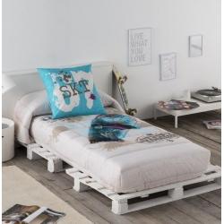 Edredón ajustable con relleno STREET estilo moderno para cama de chico