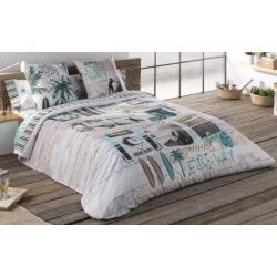 Nórdico con relleno para cama juvenil SURF 100 por 100 algodón