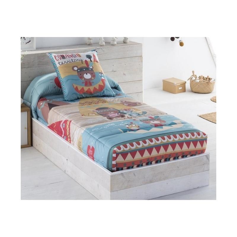 Edredon ajustable infantil para cama nido o abatible for Estructura cama nido 105