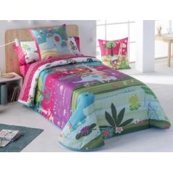 Cubierta con relleno boutí para cama de niños THAI medida 160x260, 180x260 o 205x260 cm