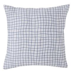 Funda para almohada de 50x50 DINOS coordinado estampado de cuadros