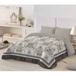 Edredón para cama de 90 a 150 cm PRISCILA de microfibra con relleno de 350 gramos