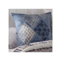 Almohada decorativa para cama juvenil EXOTIC color azul