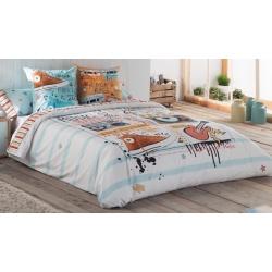 Fundas nórdicas para cama juvenil MUSIC de 150x240 hasta 270x270 cm