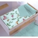 Saco nordico turquesa MARIPOSAS para cama 70x160, 90 o 105 cm