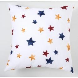 Funda de cojin para cama AVIONES dibujo de estrellas