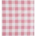 Detalle estampado VICHY cuadros rosa