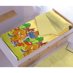Saco nordico infantil dinosarios DINOS cama 70x160, 90x200 o 105x200 cm