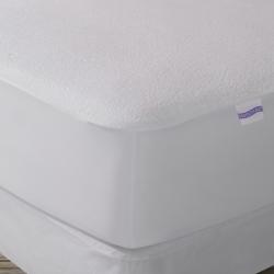 Protector de colchón para cama 90 impermeable y transpirable de algodón