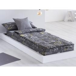 Saco nórdico juvenil cama 90 IDEA con cremallera, relleno, bajera y fuelle