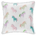 Almohada decorativa para cama de niña UNICORN dibujo de unicornios