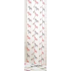 Cortinas infantiles con dibujo unicornios UNICORN talla de 140x270 cm