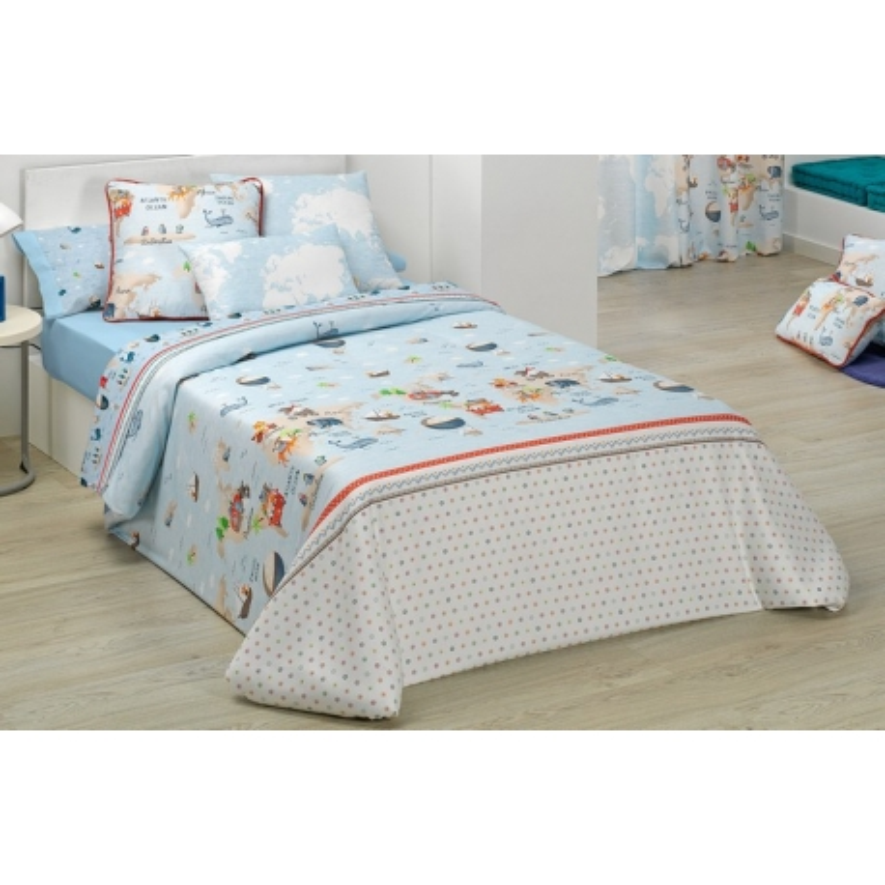 Funda nórdica infantil cama de niños 90 o 105 cm MONDO A relleno 300 gramos