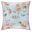 Almohada cuadrada de cama infantil MONDO B 50x50