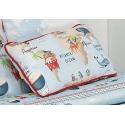 Almohada rectangular de cama infantil MONDO B 30x50