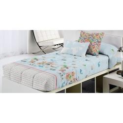 Edredón ajustable de Cañete para cama infantil MONDO A de 80, 90 o 105 cm