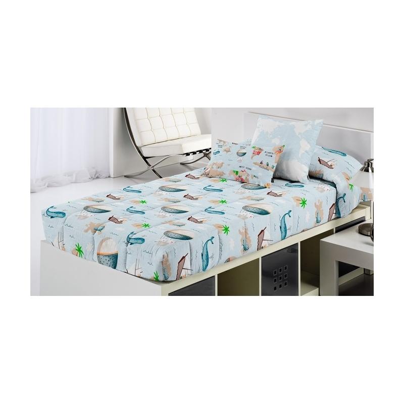 Edredón ajustable cama nido, litera, abatible MONDO C estampado original divertido