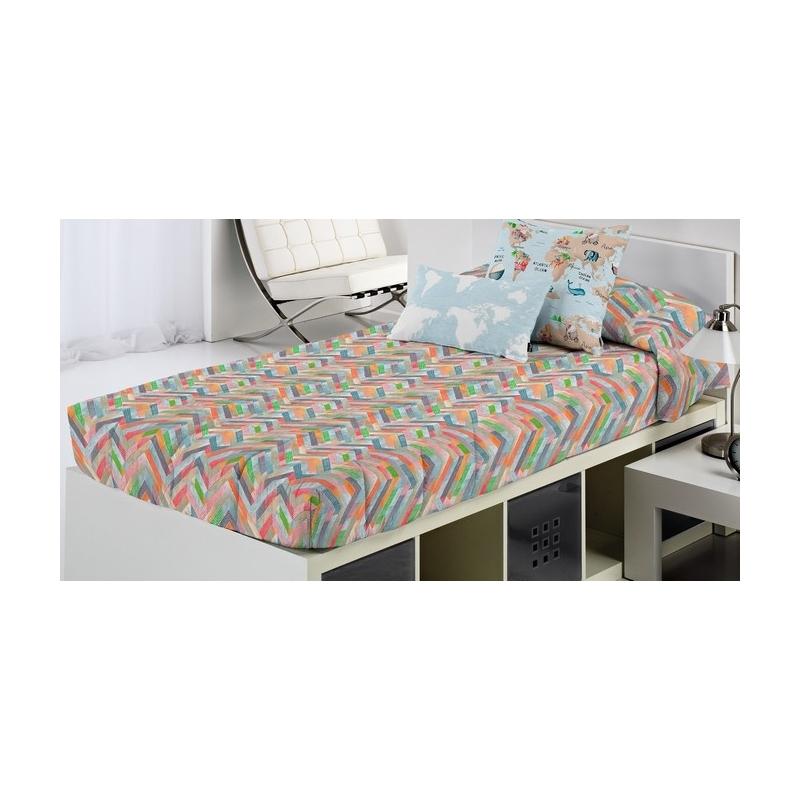 Edredón ajustable para cama juvenil SVET estilo colorido
