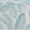 Estampado hojas de palmera SENNAE color azul