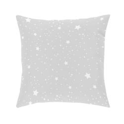 Almohada de estrellas con relleno esponjoso KALO color gris, beige, rosa o azul