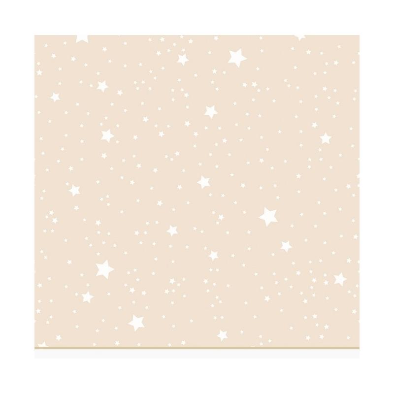 Detalle tejido de estrellas KALO color beige