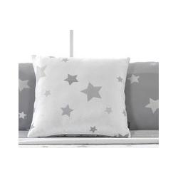 Cojin decorativo para cama KALO Colcha estrellas azules, rosa, beige o gris