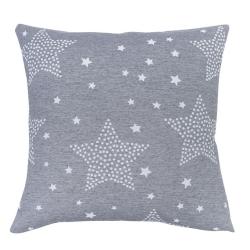 Funda para cojín de cama STARS estrellas color azul