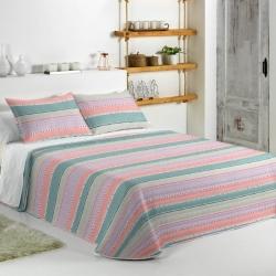 Colcha boutí de rayas FANTASY STRIPE para cama individual