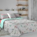 Funda nórdica infantil con relleno y bajera FANTASY B cama 90 o 105