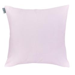 Funda de almohada sin relleno IRIS en color rosa liso de 50x50