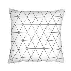 Cojín decorativo para cama GEO medida 50x50 cm con o sin relleno