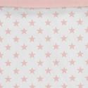 Estampado funda nórdica ESTRELLAS color rosa