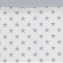 Estampado funda nórdica ESTRELLAS color gris