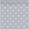 Estampado funda nórdica juvenil ESTRELLAS blancas con gris