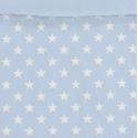 Estampado funda nórdica juvenil ESTRELLAS blancas con azul