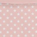 Estampado funda nórdica juvenil ESTRELLAS blancas con rosa