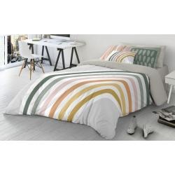 Funda nórdica de cama 90 a 180 cm RAINBOW colores del arcoiris