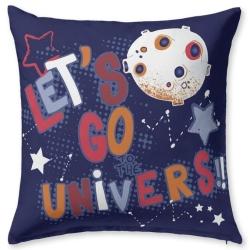 Funda para almohada de cama infantil ROCKY lets go universe