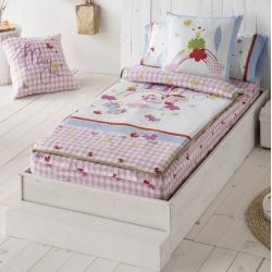 Saco nórdico de mariposas y unicornios MAGIC cama 105 o 90 cm